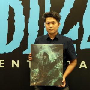 《暗黑破壞神 3:死靈法師的崛起》繪畫競賽得獎-張秩維   維真電繪筆記